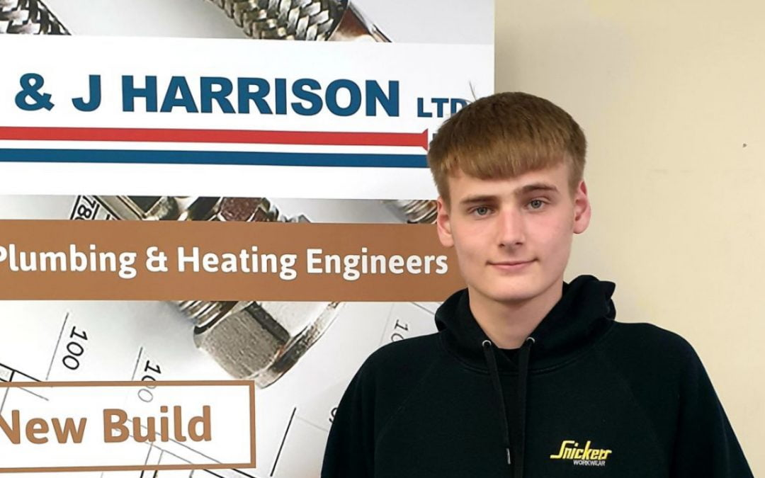 J&J Harrisons are pleased to welcome new apprentice Harvey Harris